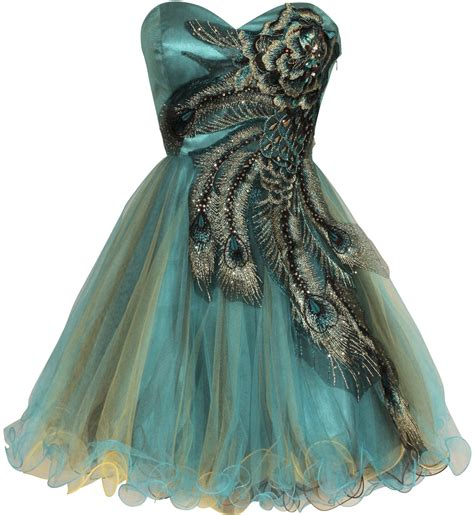 peacock prom dresses metallic peacock embroidered holiday