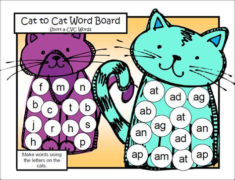 printable short vowel board games fun games 4 learning freebies