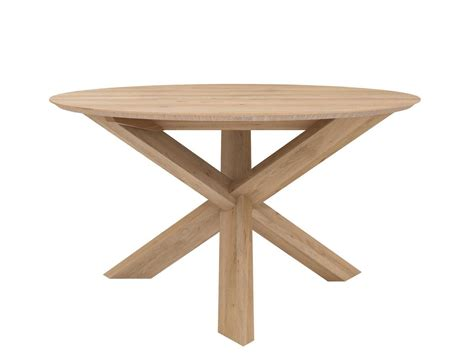 small circle dining table ethnicraft oak circle dining table small