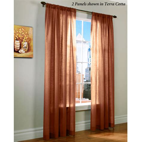 Weathervane Thermasheer Tm Curtain Panels