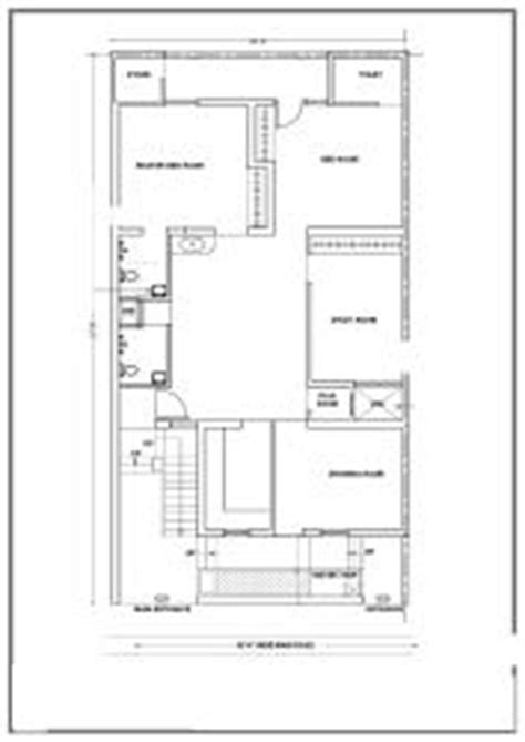 elevation and plan for 37 60 ft land modern house plan for 30x60 1800sqft with east facing