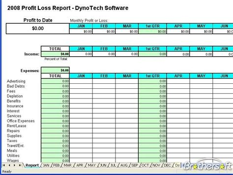Download Free Profit Loss Report, Profit Loss Report 7.0