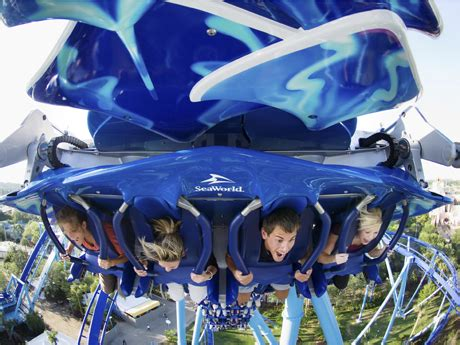 manta flying roller coaster | seaworld orlando