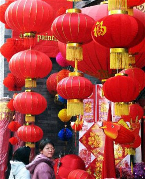 china decorations home people s daily online china in mood for spring festival