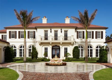 neo classical homes neoclassical oceanfront mediterranean exterior miami by affiniti architects