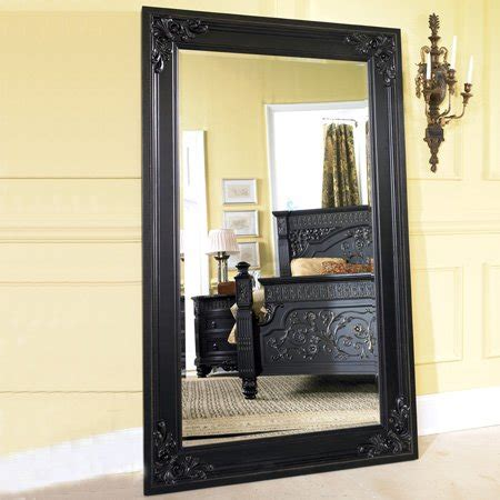 Floor Mirrors Cheap by Discount Mirrors Britannia Framed Floor Mirror