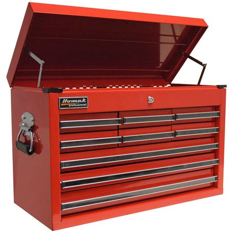 professional tool chests and cabinets homak 174 professional 27 quot 9 drawer tool chest