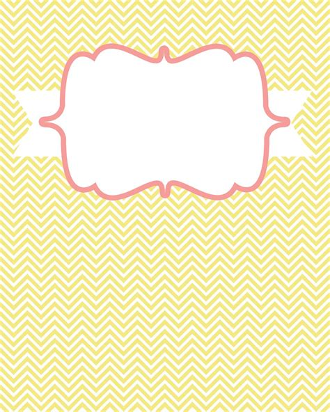 templates for cover pages for binders 8 best images of blank chevron binder cover printables