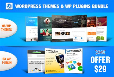 6 best wordpress themes & 3 awesome plugins dealfuel