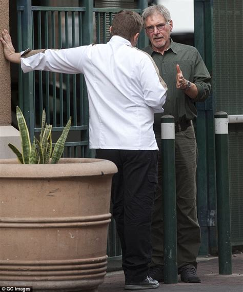 ben ford harrison ford harrison ford shares tender moment with chef benjamin