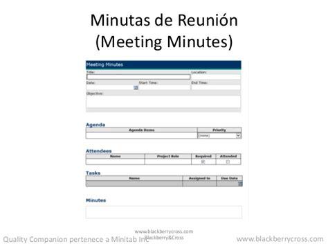 Minuta De Reunion