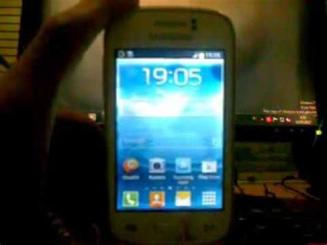 reset samsung young gt s6310 hard reset samsung galaxy young gt s6310 youtube