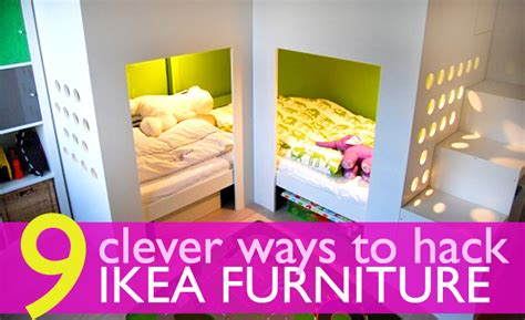 furniture hacks 9 ingenious ways to hack ikea furniture for tiny apartments ikea raised loft bed inhabitat new