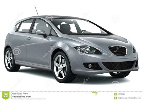 Car Silver by Compact Silver Car Royalty Free Stock Photo Image 37015135