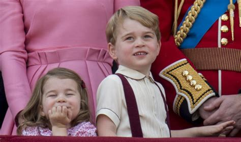 prince george eye color prince george and princess stole the show at