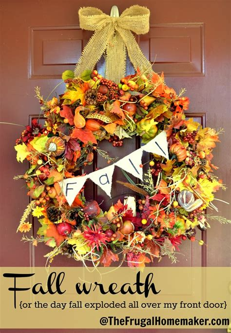 31 days of fall inspiration and easy fall wreath