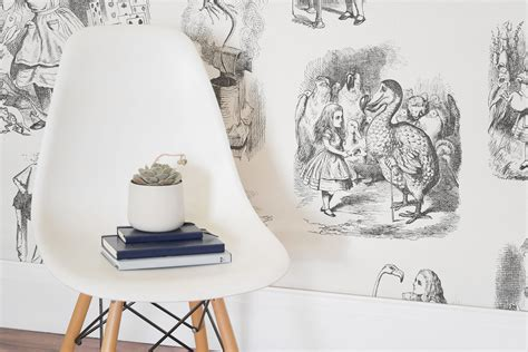 alice in wonderland bedroom wallpaper down the rabbit hole with murals wallpaper home business
