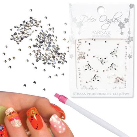 Deco Ongle Strass by D 233 Co Ongle D 233 Coration Ongles Strass Argent 233 S
