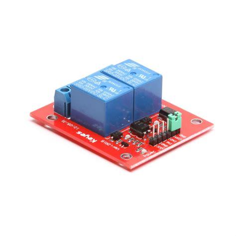 Modul Relay 2 Chanel 5 Volt Arduino 2 Channel 5v 12v Relay Shield Module For Arduino