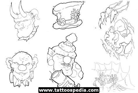 tattoo flash for beginners sheet tattoos 543