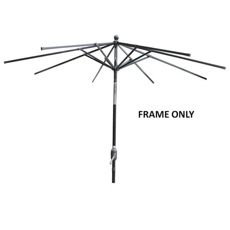 Patio Umbrella Frame Patio Umbrella Frame Only Outdoor Furniture Design And Ideas