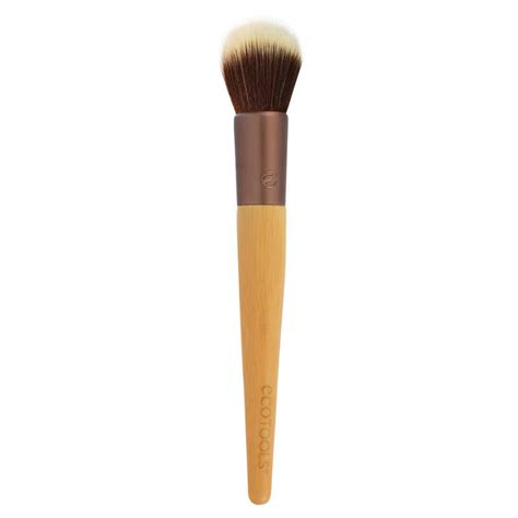La Stippling Brush pinceau stippling brush ecotools colorsandmakeup