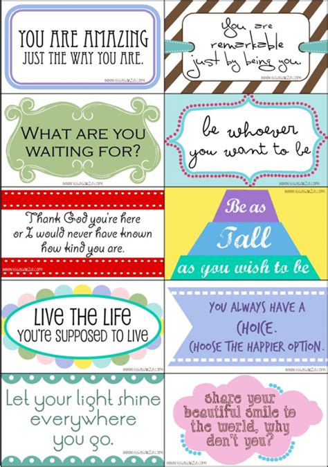 free printable inspirational postcards be different act normal inspirational printables for 2012