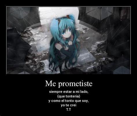 imagenes anime tristes frases tristes de animes de amor para reflexionar animes