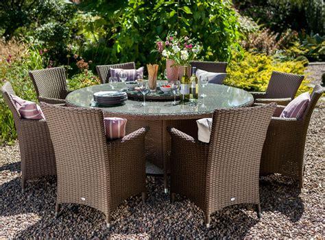 Patio Furniture Appleton Wi by Hartman Appleton Weave 8 Seater Dining Set In Sepia