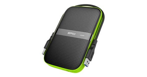 silicon power rugged rugged usb 3 0 portable hdd from silicon power wears heavy armor