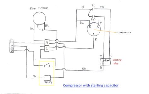air conditioning compressor wiring diagram wiring diagrams