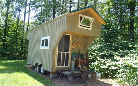 micro house vermont tiny house the tiny life