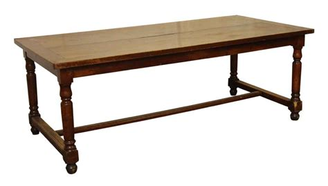 Spindle Leg Dining Table Solid Cherry Farm Table With Spindle Legs Olde Things