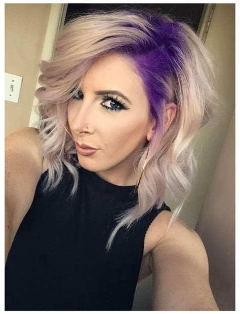 best hair color for a hispanic with roots 25 best ideas about purple blonde hair on pinterest