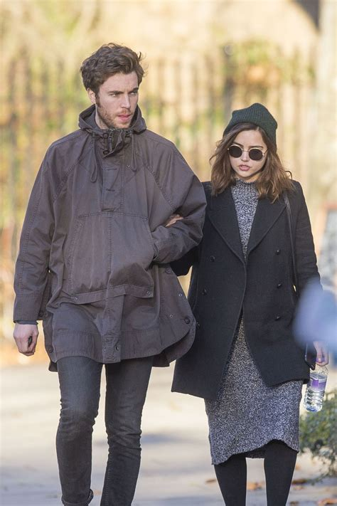 tom hughes jenna jenna coleman and tom hughes out in london december 2016