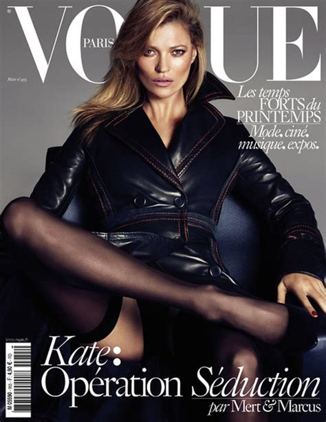 Cbell Kate Moss On The Cover Of Vogue February 2008 by Kate Moss Werbowy Lara For Vogue