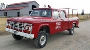 1962 Dodge Power Wagon Purchase Used 1962 Dodge Power Wagon Crew Cab W200 3 4 Ton