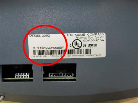 Garage Door Numbers Genie Recalls Garage Door Openers Due To Hazard