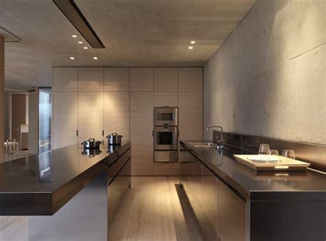 Kitchen Space Saver Ideas Modern Minimalist Concrete House Designs From Marte Marte Architekten Iroonie