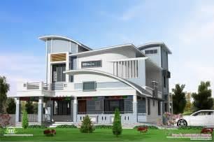 Modern Villa Plans Modern Unique Style Villa Design Home Kerala Plans