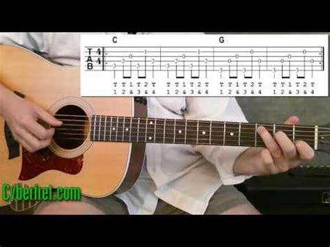 fingerstyle basic tutorial travis picking lesson 1 funnydog tv