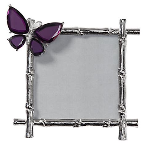 butterfly jeweled frame 50 amp under gifts z gallerie