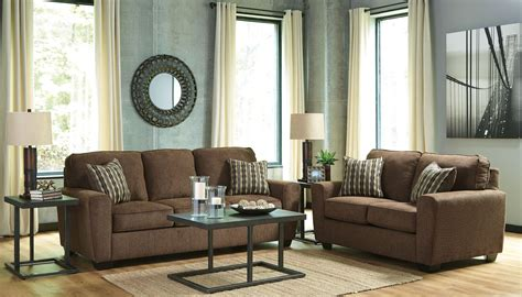 Walnut Living Room Furniture Sets Landoff Walnut Living Room Set 2460438