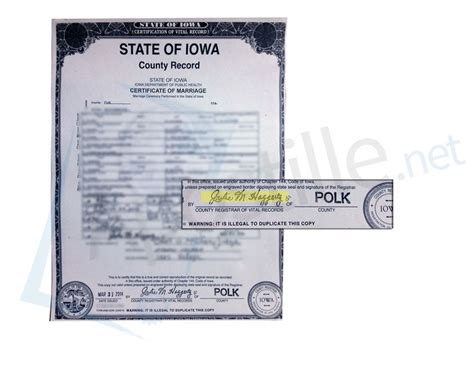 Polk County Iowa Marriage Records 17 Best Images About State Of Iowa Sle Apostille On