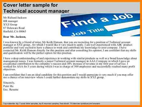 Introduction Letter New Account Manager 6 account manager introduction letter introduction letter