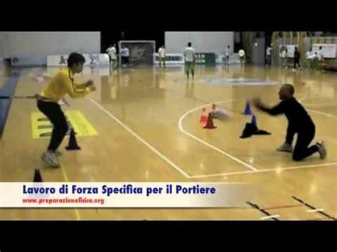 esercizi portiere calcio a 5 calcio a 5 lavoro di forza specifica per il portiere