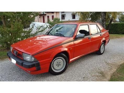 Alfa Romeo America by Sold Alfa Romeo 75 Turbo America 1 Used Cars For Sale