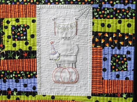10 Free Halloween Themed Embroidery Patterns Halloween Crafts For Kids Ghosts