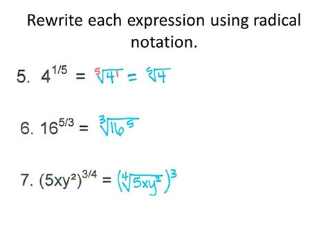 calculator radical rational exponents march 2 ppt video online download