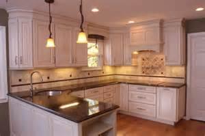Used Kitchen Cabinets Cincinnati Glazed White Cabinets Traditional Kitchen Cincinnati